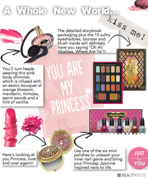 Beautysets - A Whole New World - Princess Jasmine Collection