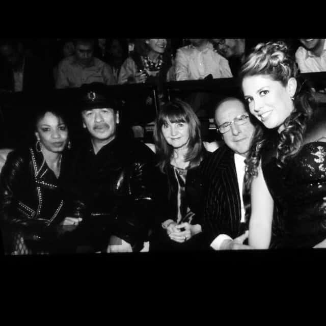 HBO Latino-Corazon Live-Clive-Davis-Lizza-Monet-Morales