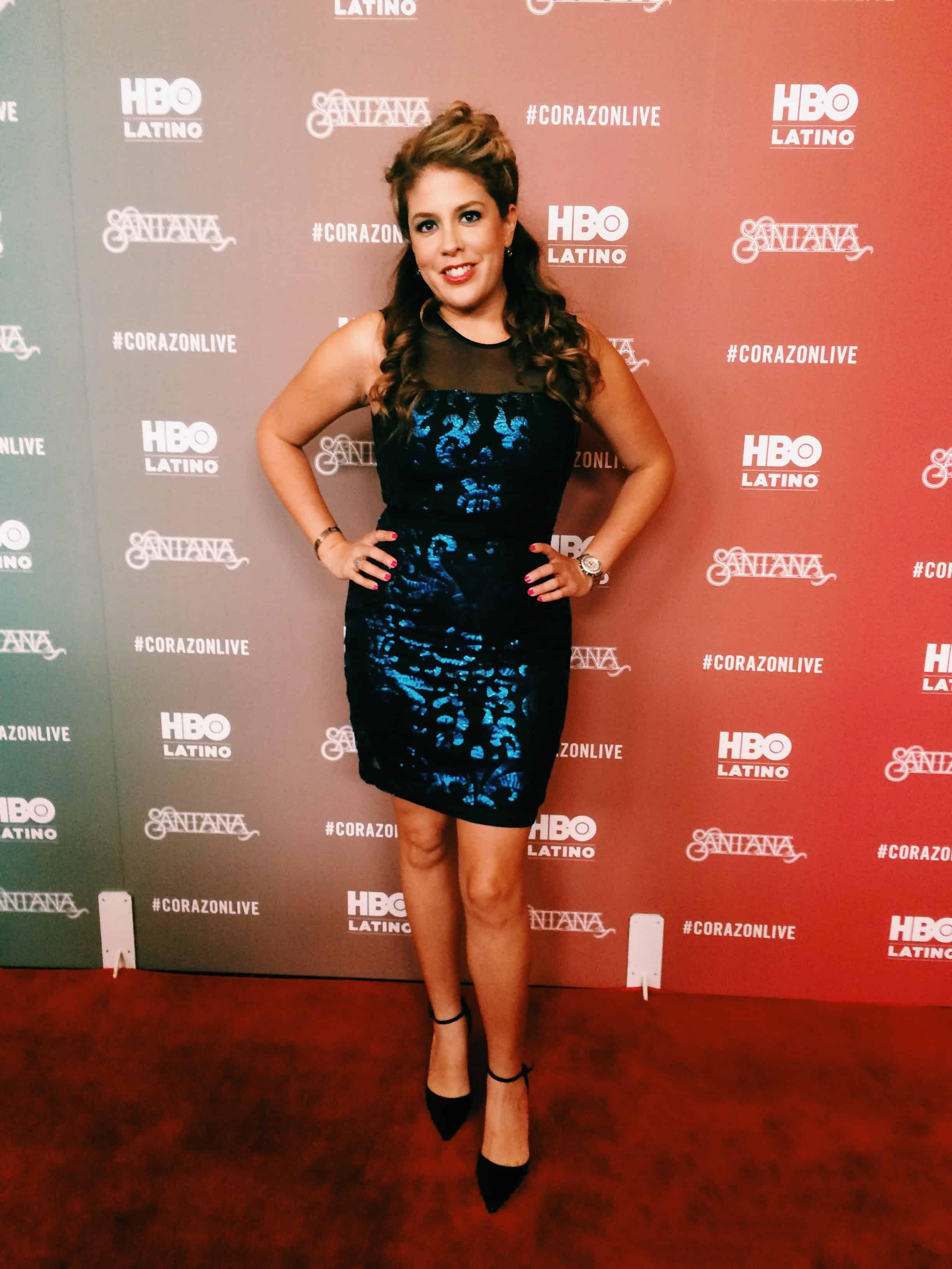 Lizza-Morales-HBOLatino-Carlos-Santana-Red-Carpet