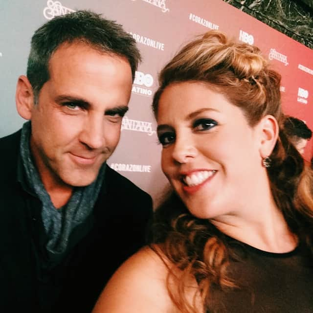 Red carpet-Carlos-Ponce-Lizza-Monet-Morales-HBO Latino