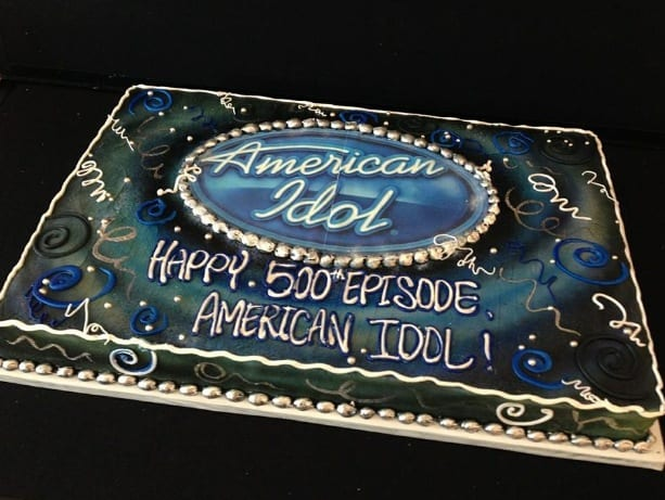 Marc Gravelle's American Idol Cake