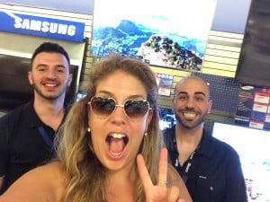samsung-tv-shopping-with-xoxolizza-destinationdad